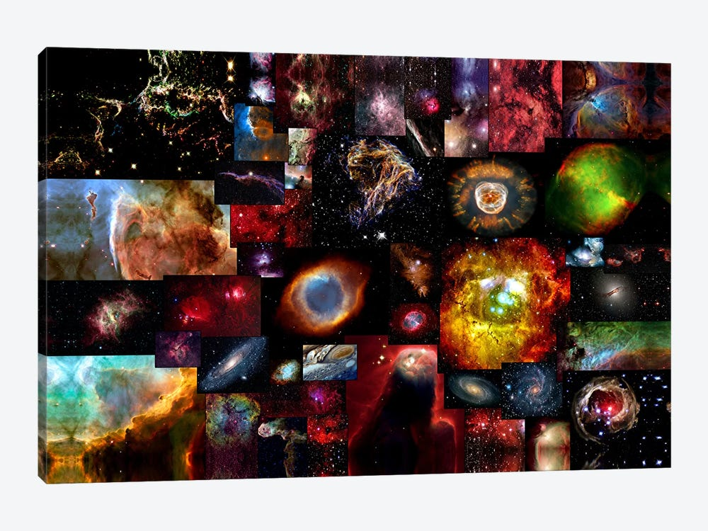 The Universe by Unknown Artist 1-piece Canvas Art Print
