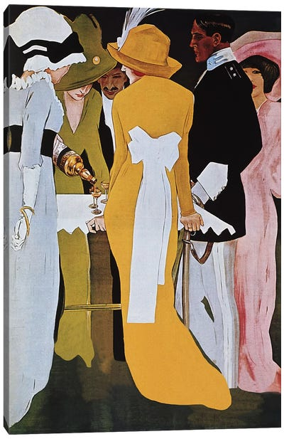 Cordial Campari Liquer Vintage Poster Canvas Print #5014