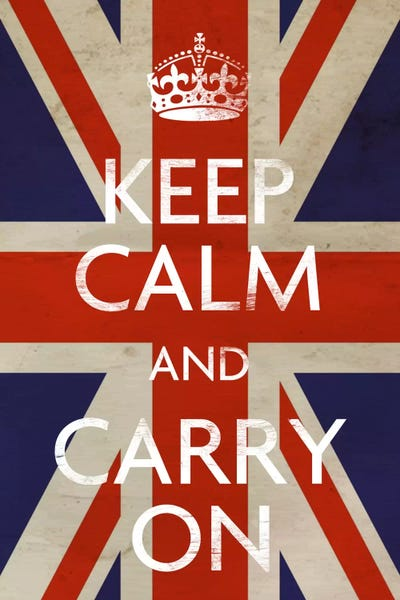 Keep Calm And Carry On übersetzung