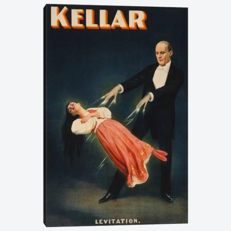 Kellar: Levitation of Princess Karnac Vintage Magic Poster Canvas Print #5027} by Unknown Artist Canvas Artwork