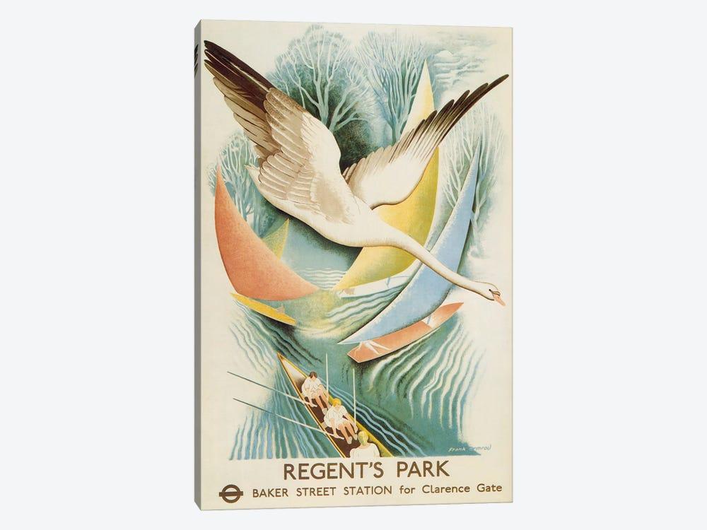 Regent's Park London Underground Vintage Poster by Unknown Artist 1-piece Canvas Print