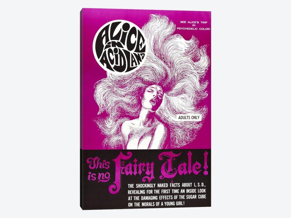 Alice In Acidland Vintage Movie Poster by Unknown Artist 1-piece Canvas Print