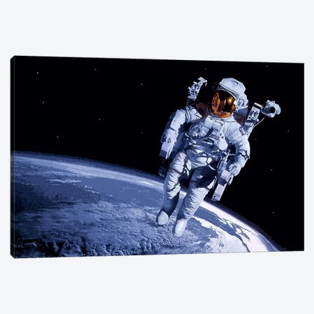 Spaceman Canvas Print #509} by Unknown Artist Canvas Print