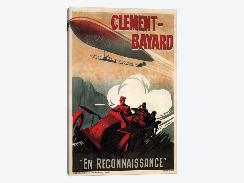 Clement - Bayard (En Reconnaissance) Advertising Vintage Poster by Unknown Artist 1-piece Canvas Art Print
