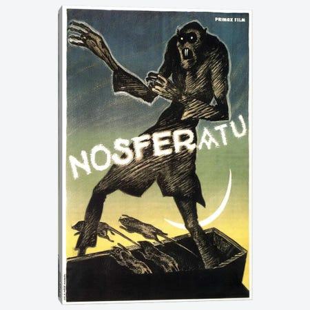 Nosferatu (Movie) Advertising Vintage Poster Canvas Print #5231} by Unknown Artist Canvas Artwork