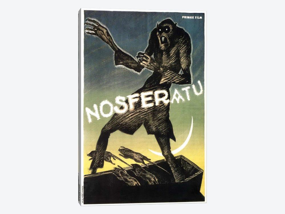 Nosferatu (Movie) Advertising Vintage Poster by Unknown Artist 1-piece Canvas Art Print