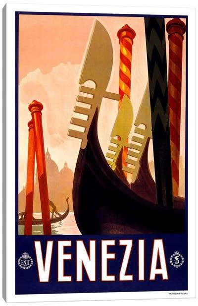 Venezia Advertising Vintage Poster Canvas Print #5256
