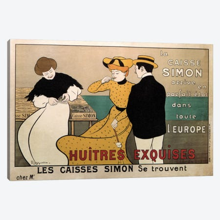 Vintage Ad Poster Canvas Print #5280} by Unknown Artist Canvas Print