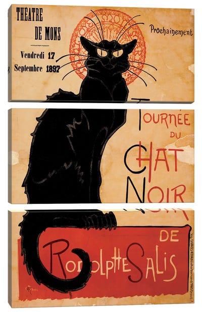 Tournee du Chat Noir Advertising Vintage Poster Canvas Art Print