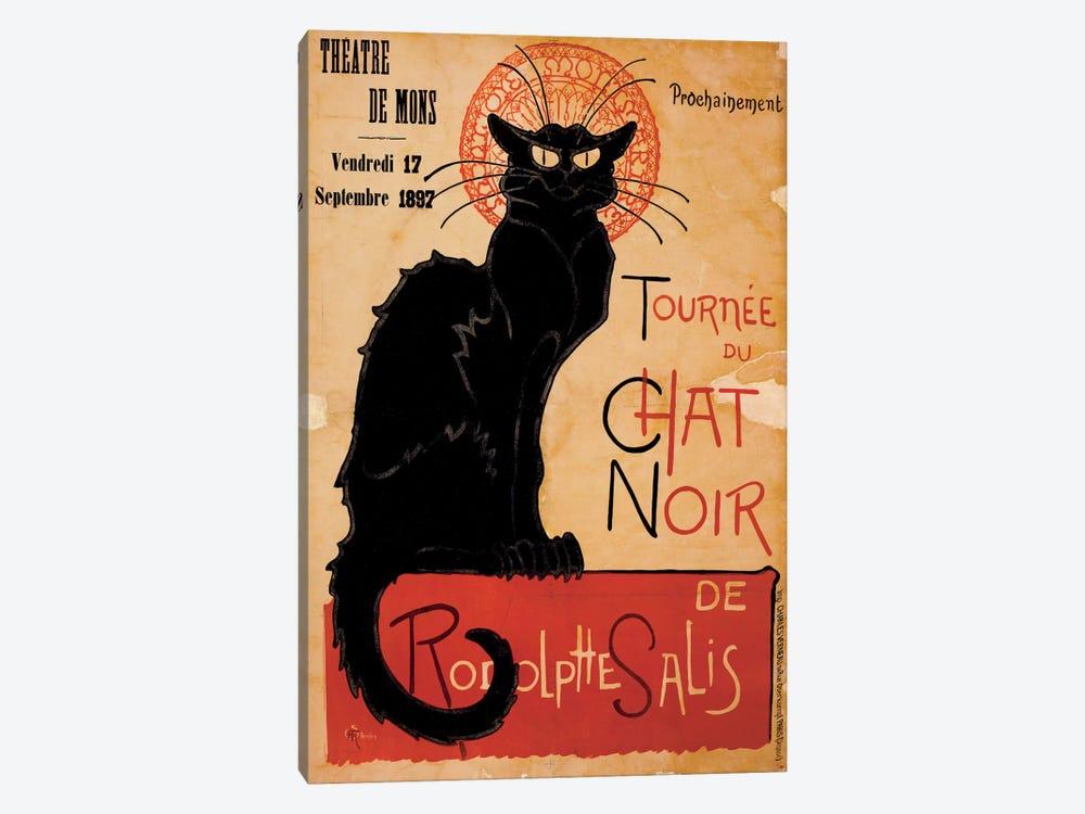 Tournee du Chat Noir Advertising Vintage Poster by Unknown Artist 1-piece Canvas Art Print