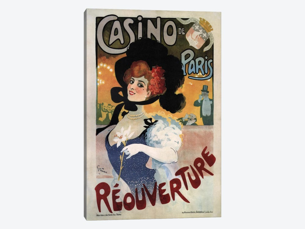 Vintage Ad Poster by Unknown Artist 1-piece Canvas Wall Art