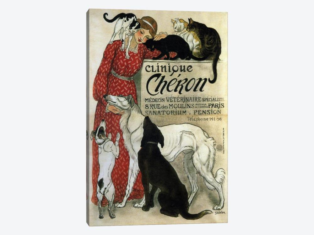 Clinique Cheron Advertising Vintage Poster by Unknown Artist 1-piece Art Print