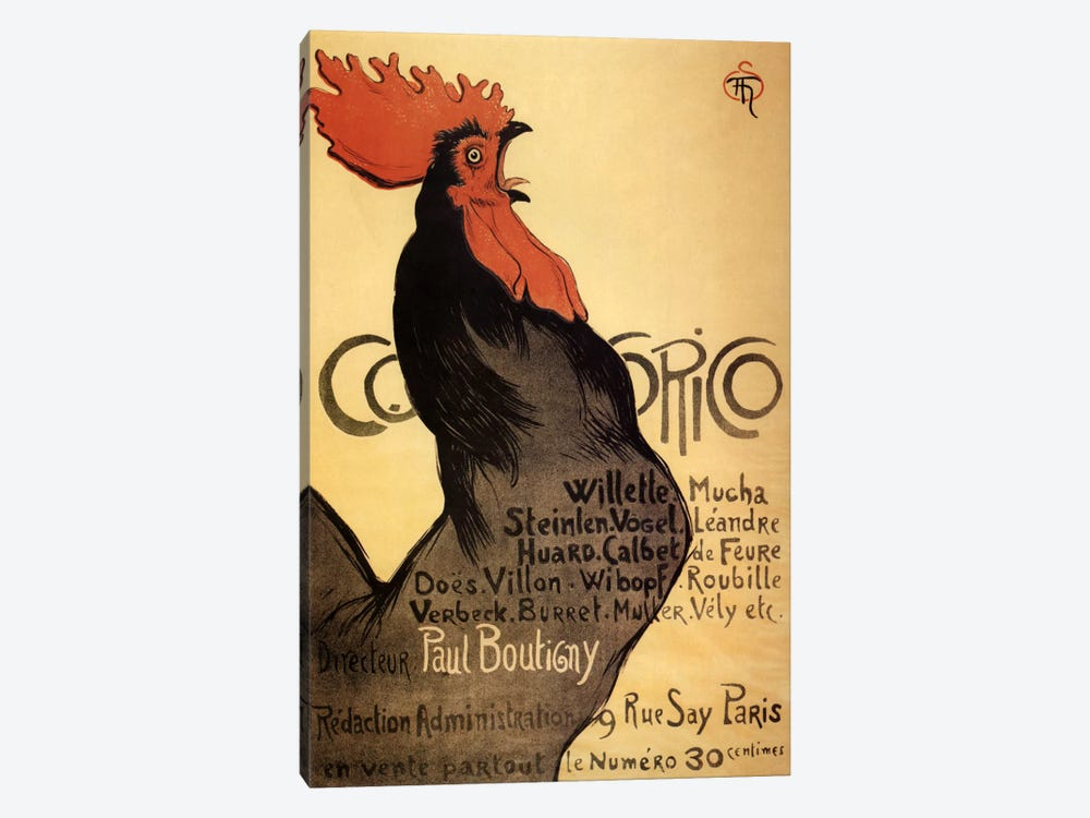 Cocorico Advertising Vintage Poster 1-piece Art Print
