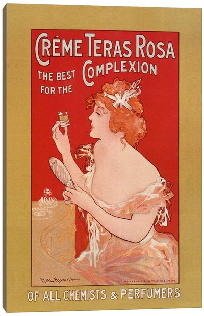 Vintage Ad Poster Canvas Art Print