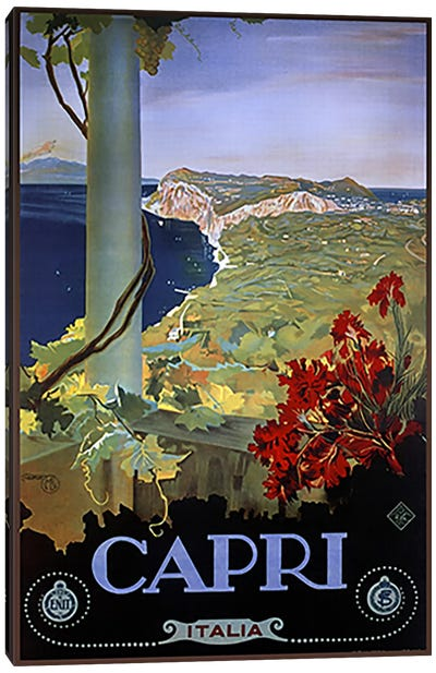 Capri Italia Canvas Art Print