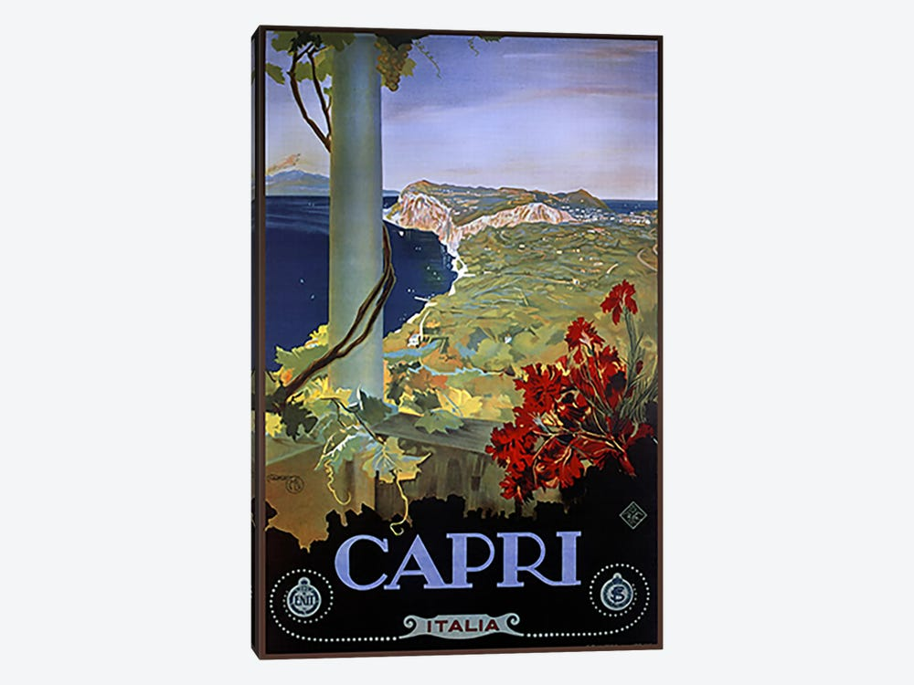 Capri Italia by Vintage Apple Collection 1-piece Canvas Wall Art