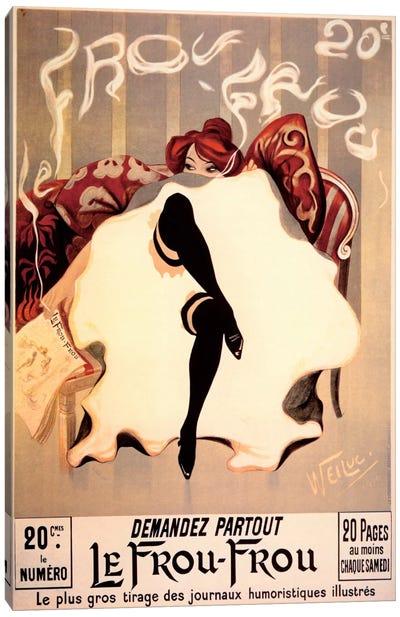 Le Frou Frou Canvas Art Print