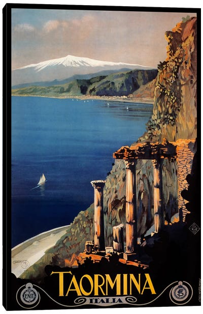 Taormina Canvas Art Print
