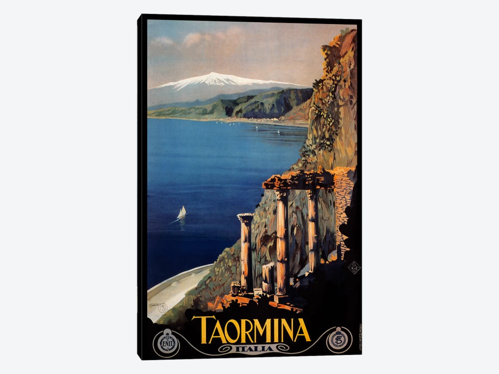 Taormina by Vintage Apple Collection 1-piece Art Print