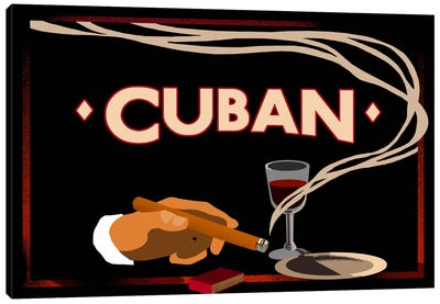 Cuban Canvas Art Print
