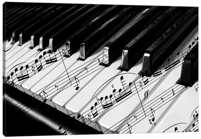 Piano Canvas Art Print