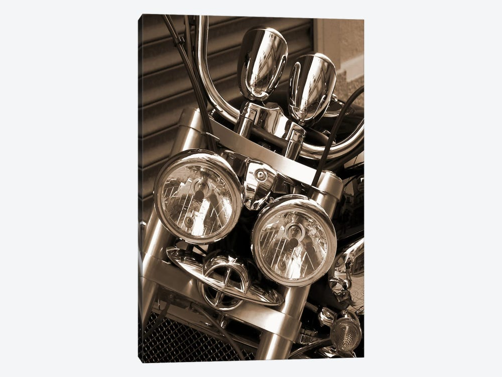 Harley Motorcycle by Unknown Artist 1-piece Art Print