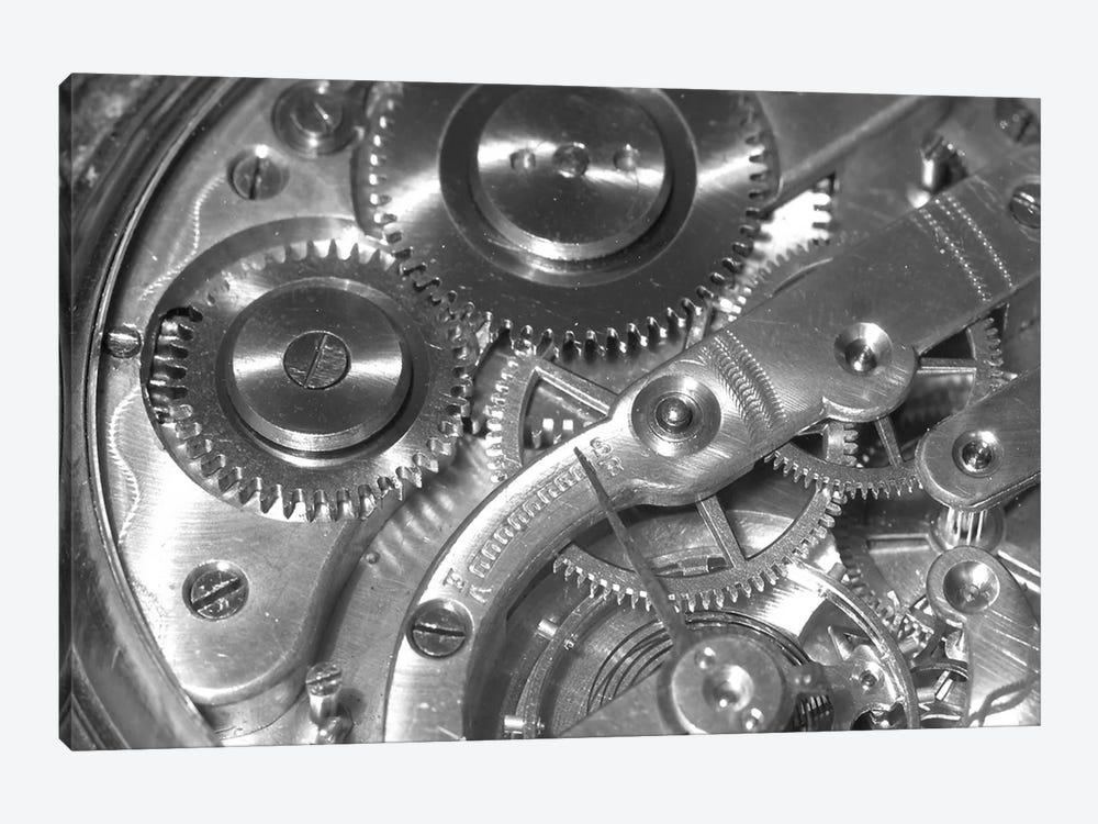 Watch Mechanism by Unknown Artist 1-piece Canvas Print