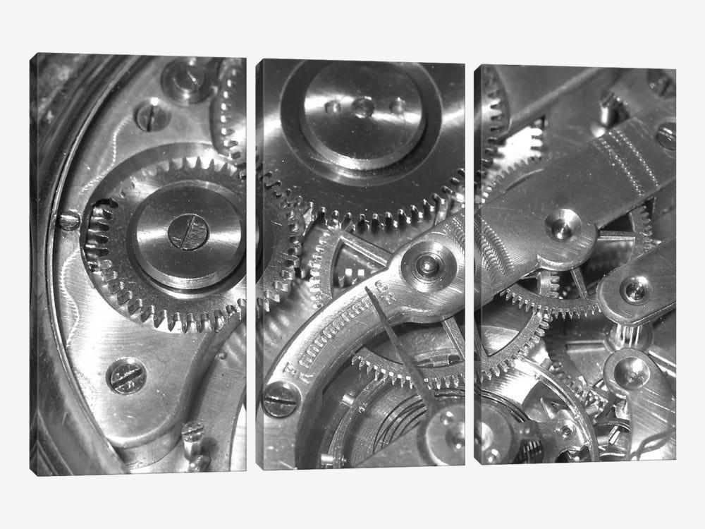 Watch Mechanism by Unknown Artist 3-piece Art Print