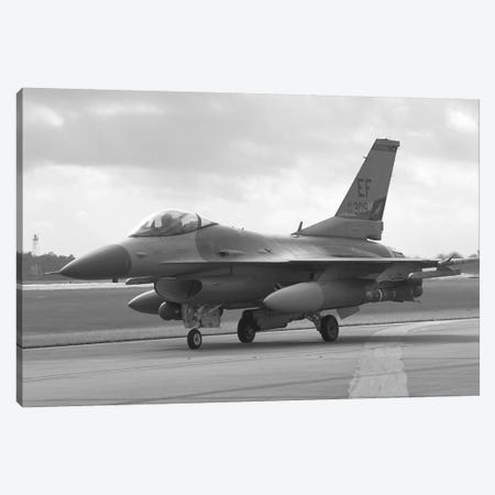 F-16 Fighter Plane Canvas Print #58} Canvas Wall Art