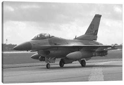 F-16 Fighter Plane Canvas Art Print