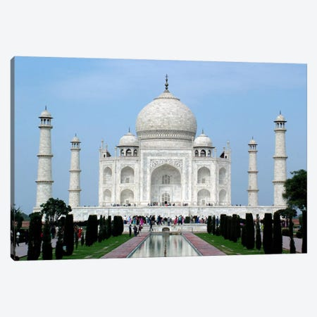 Taj Mahal Canvas Print #5} by Unknown Artist Art Print