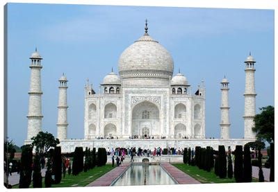 Taj Mahal Canvas Art Print