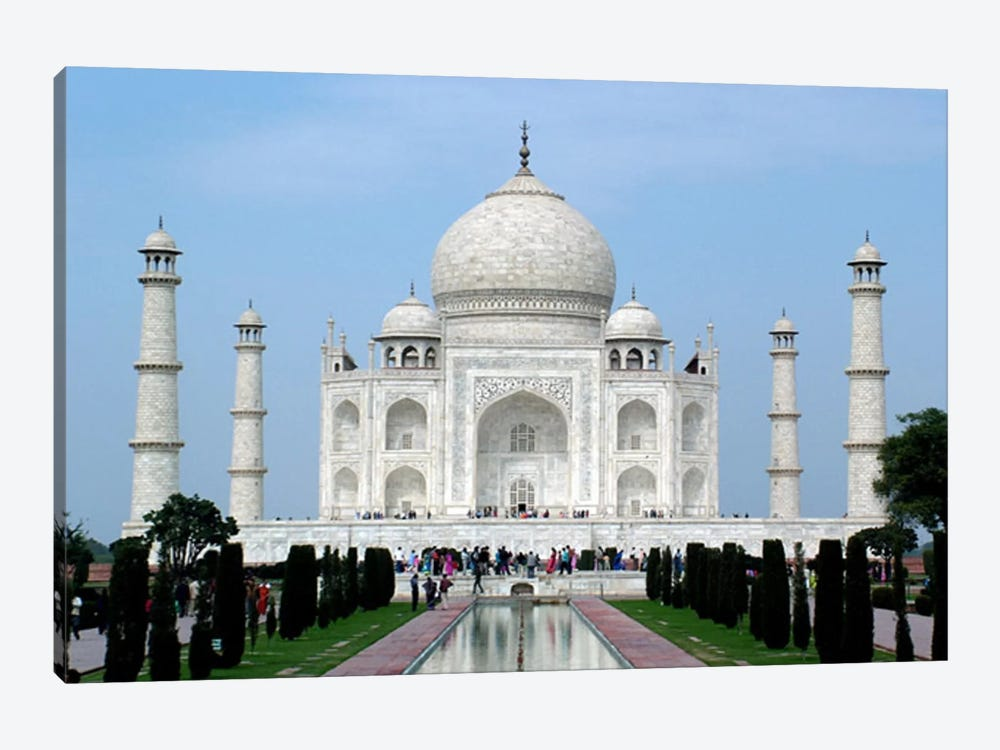 Taj Mahal 1-piece Canvas Wall Art