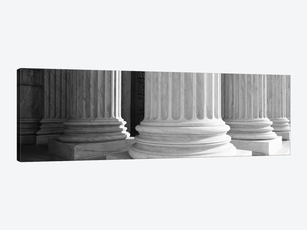 Columns Achitecture (Black & White) 1-piece Canvas Print