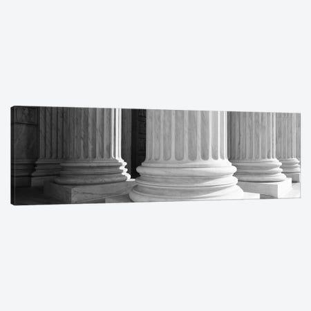 Columns Achitecture (Black & White) Canvas Print #6016} by Unknown Artist Art Print