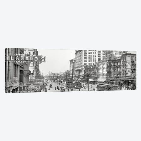 Nola Panoramic Skyline Cityscape Canvas Print #6031} by Unknown Artist Canvas Wall Art