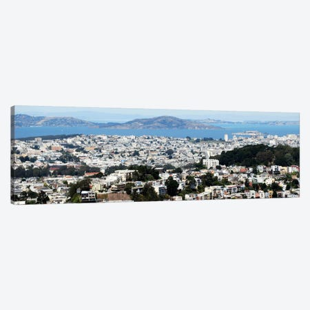 San Francisco Panoramic Skyline Cityscape Canvas Print #6035} Art Print