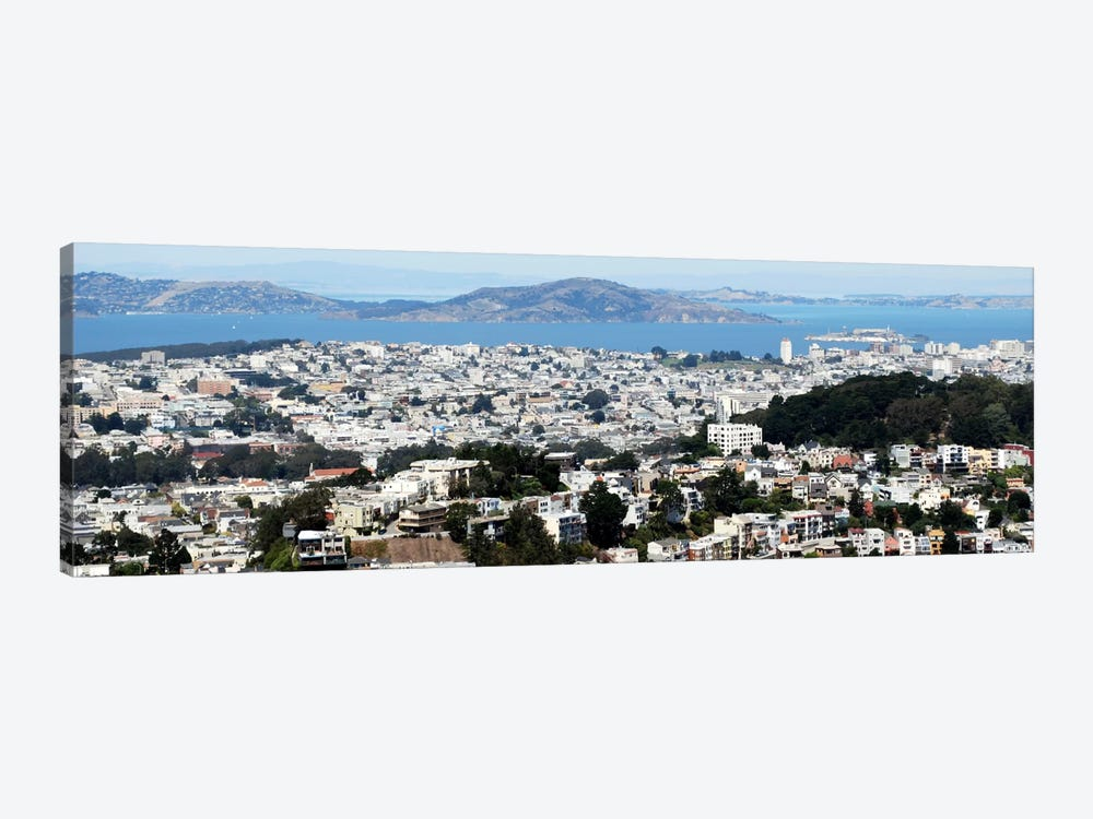 San Francisco Panoramic Skyline Cityscape by Unknown Artist 1-piece Canvas Artwork