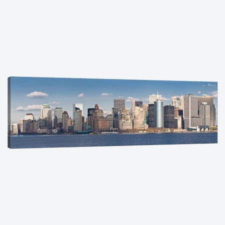 New York Panoramic Skyline Cityscape Canvas Print #6069} by Unknown Artist Canvas Print