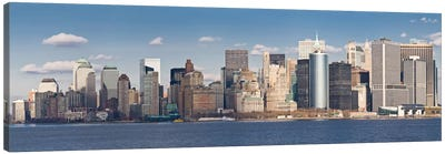 New York Panoramic Skyline Cityscape Canvas Print #6069