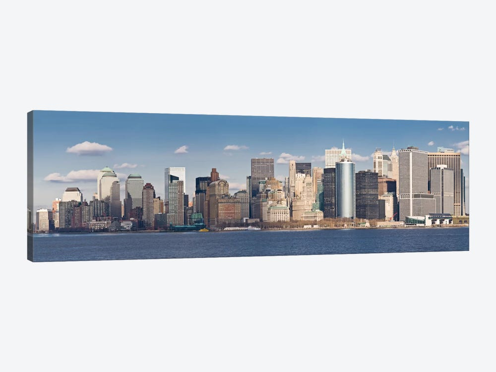 New York Panoramic Skyline Cityscape by Unknown Artist 1-piece Art Print