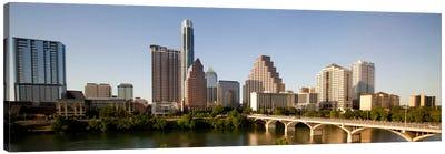 Austin Panoramic Skyline Cityscape Canvas Print #6077