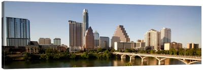 Austin Panoramic Skyline Cityscape Canvas Art Print