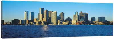 Boston Panoramic Skyline Cityscape Canvas Print #6079