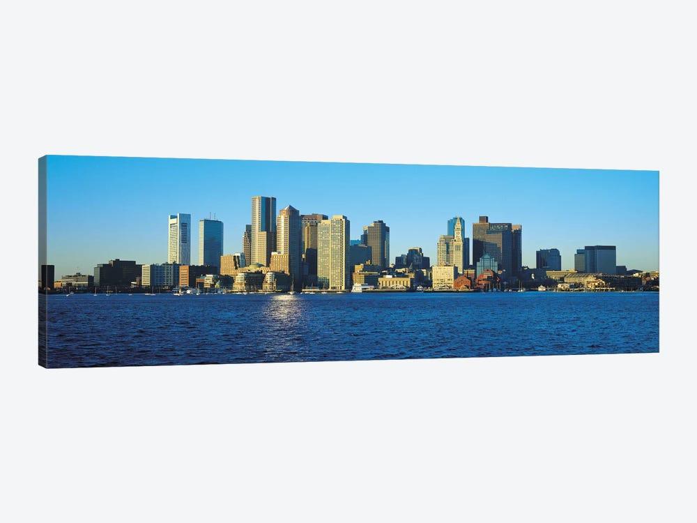 Boston Panoramic Skyline Cityscape by Unknown Artist 1-piece Canvas Artwork