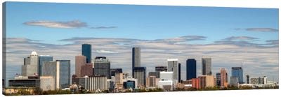 Houston Panoramic Skyline Cityscape Canvas Art Print