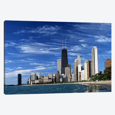 Downtown Chicago Canvas Print #60} by Unknown Artist Canvas Print