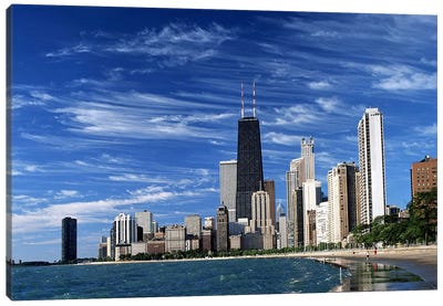 Downtown Chicago Canvas Art Print