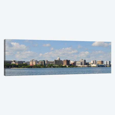 Madison Panoramic Skyline Cityscape Canvas Print #6103} Canvas Art