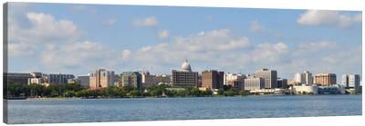 Madison Panoramic Skyline Cityscape Canvas Art Print